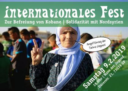 Freudenfest zur Befreiung von Kobane!