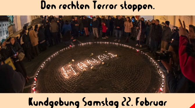 Stoppt den rechten Terror!